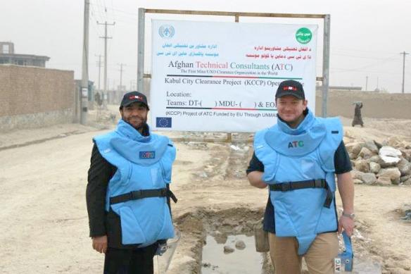 МАККА / ЮНМАС – с Полом Хеслопом в Кабуле, Афганистан.